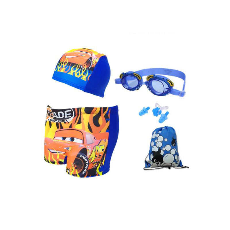 【儿童游泳用品套餐】泳裤男童游泳衣超中角宝宝大童小孩