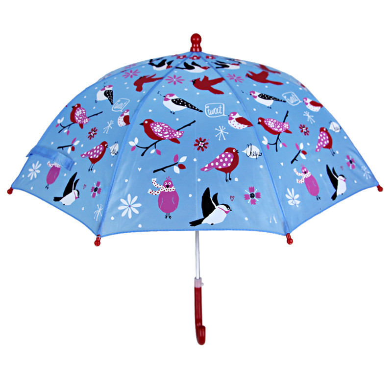 防风卡通儿童雨伞男女宝宝直柄晴雨伞可爱印花小学生雨伞