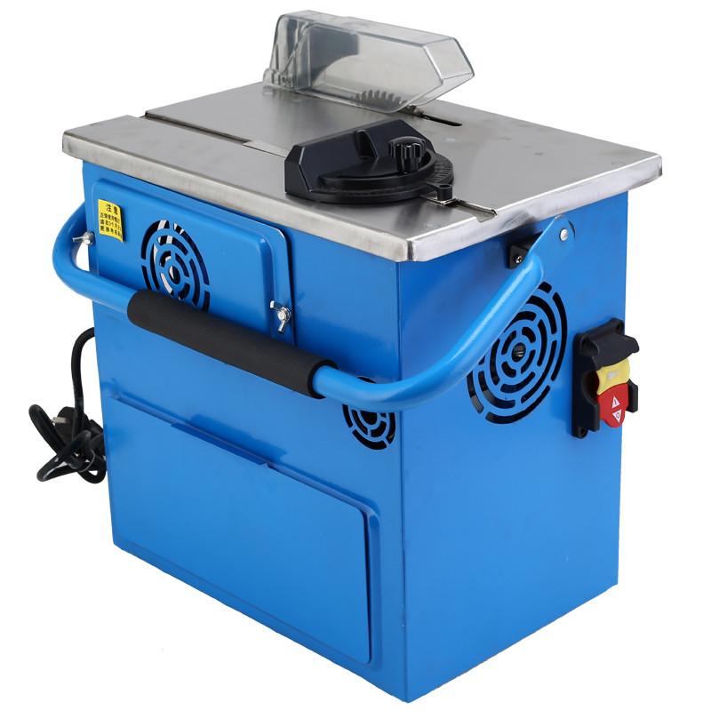 凯德龙无尘锯多功能实木地板无尘电锯木工切割机微型简易推台锯 最小