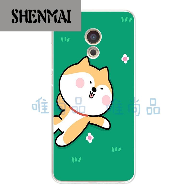 品牌魅族魅蓝3/s/2手机壳魅蓝metal保护套软硅胶q版卡通可爱搞怪柴犬