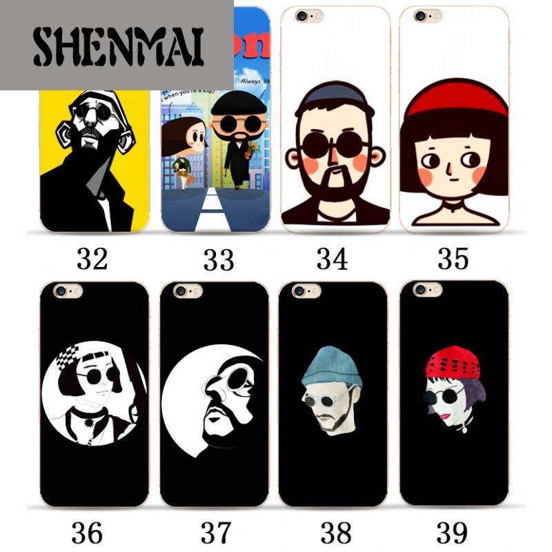 shm品牌苹果6/6s手机壳这个杀手不太冷iphone6plus保护套华为p9情侣潮