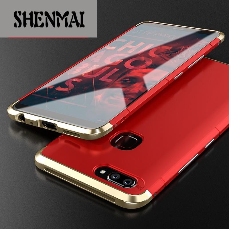 手机套品牌_shm品牌vivox20手机壳x20plus手机套全包防摔x20金属手机壳磨砂硬壳卫