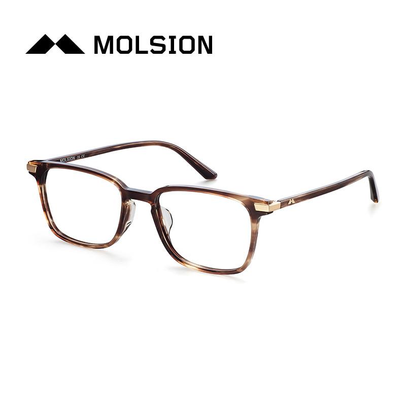 陌森眼镜框女2017年秋冬新款全框板材近视镜眼镜架女款mj3003