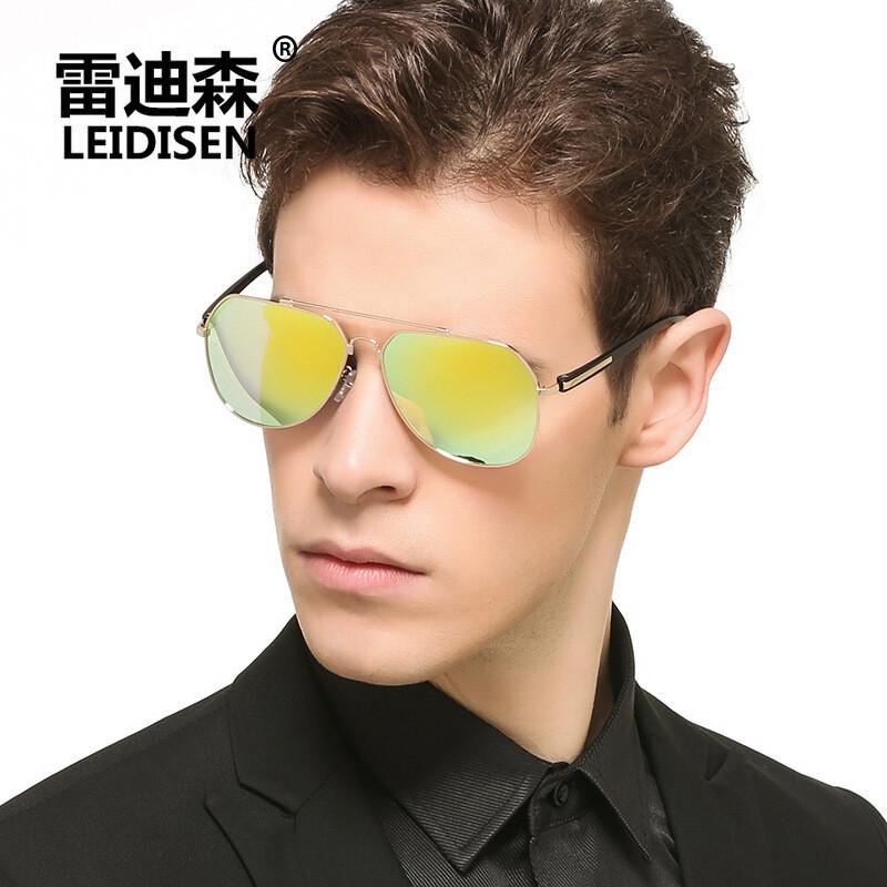 2017年新款男女通用记忆架偏光太阳镜真彩膜眼镜司机镜墨镜ps1502男女