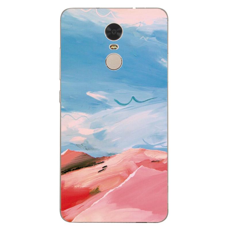 622款小米红米3/3x/3s/pro手机壳软创意文艺术水彩手绘硅胶保护套挂绳