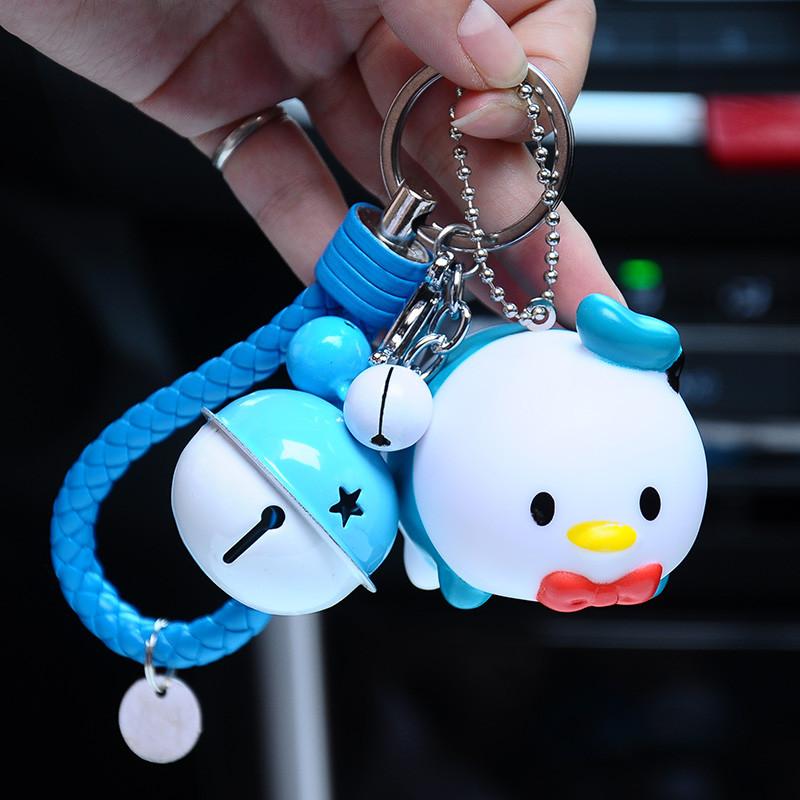 可爱超萌小猪钥匙扣男女个性生肖猪卡通钥匙挂件情侣节日礼品创意