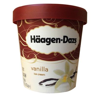 哈根达斯 大杯品脱冰淇淋雪糕 香草味冰激凌 473ml