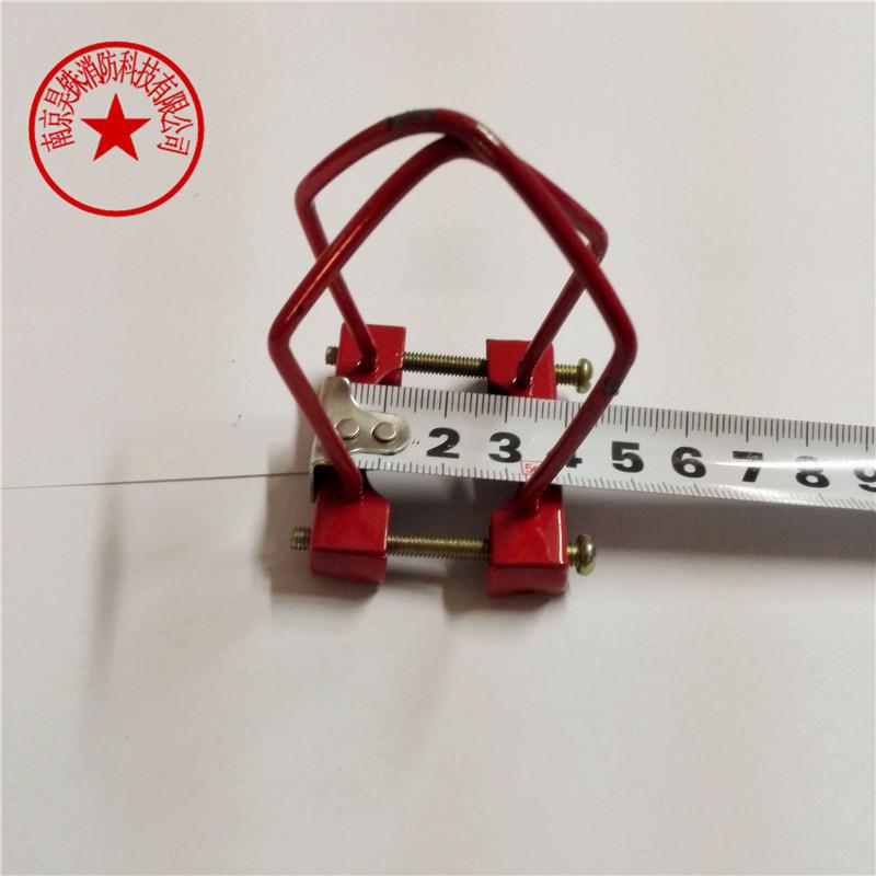 消防喷淋头架 喷头保护架 支架 消防喷淋洒水头 保护罩 无需拆卸 红色
