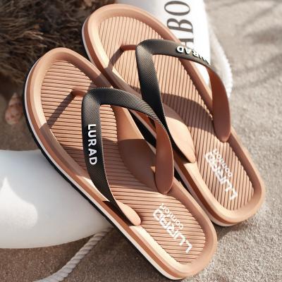 路拉迪男士人字拖鞋夏季 橡胶底凉拖夹拖防滑凉鞋男沙滩鞋欧美潮流