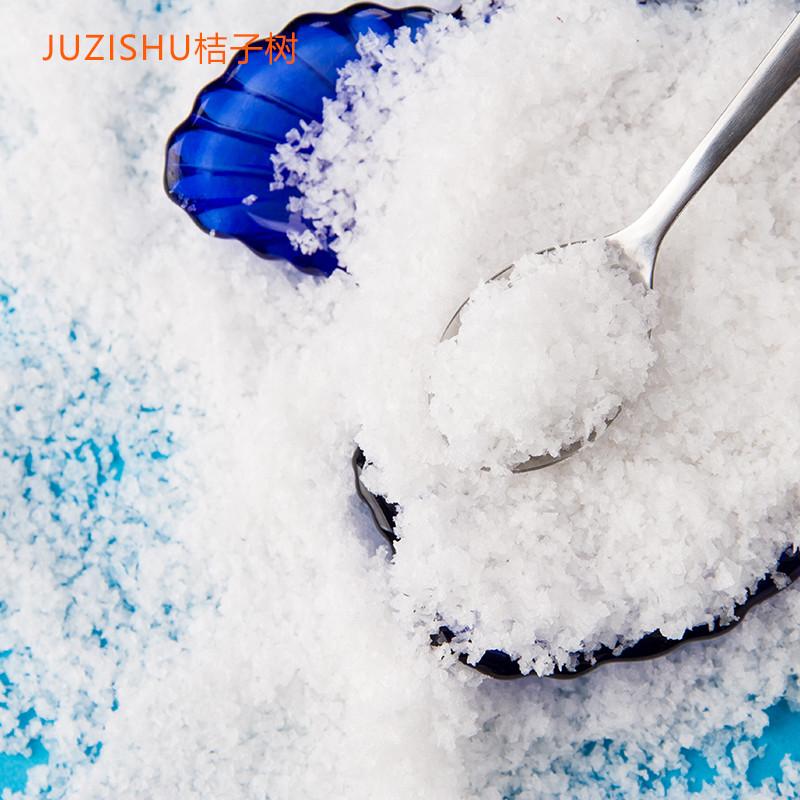 桔子树juzishu雪花盐海盐200g