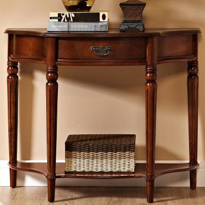 蘭博灣家具(RAMBOY) 客廳家具 美式鄉村玄關臺 美式實木玄關桌 玄關
