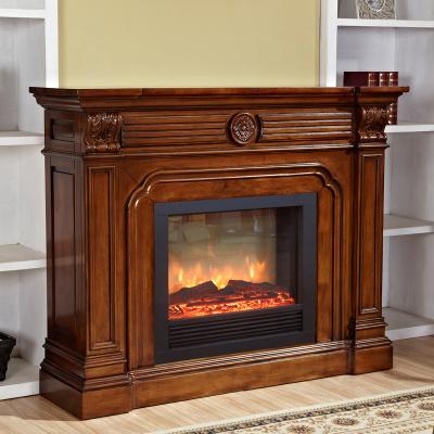 蘭博灣(RAMBOY)客廳家具 美式鄉村 壁爐 美式全實木壁爐 歐式壁爐架 別墅客廳家具 帶壁爐芯