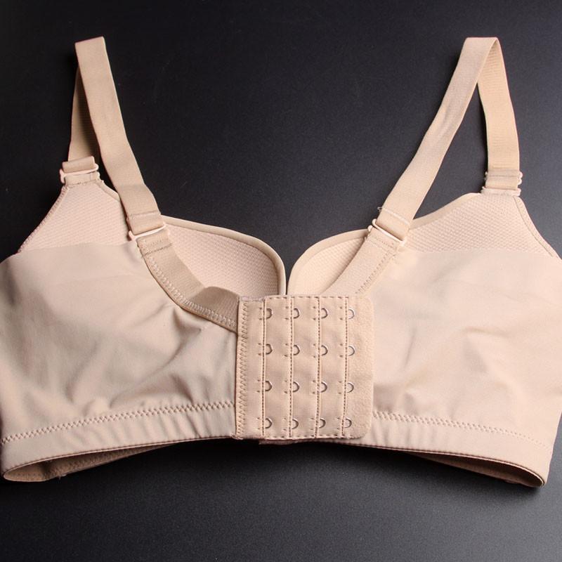 娉语新款一片式无痕内衣无钢圈小胸聚拢a加厚杯调整型文胸奶罩