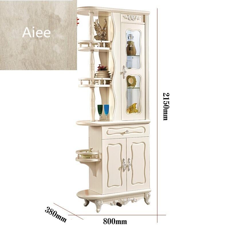 aiee欧式客厅进门玄关柜隔断柜酒柜现代简约双面鞋柜屏风间厅装饰柜子