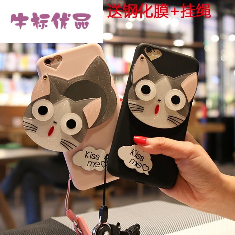 牛标优品oppor11手机壳女款可爱卡通超萌r9splus个性创意韩国a77全包