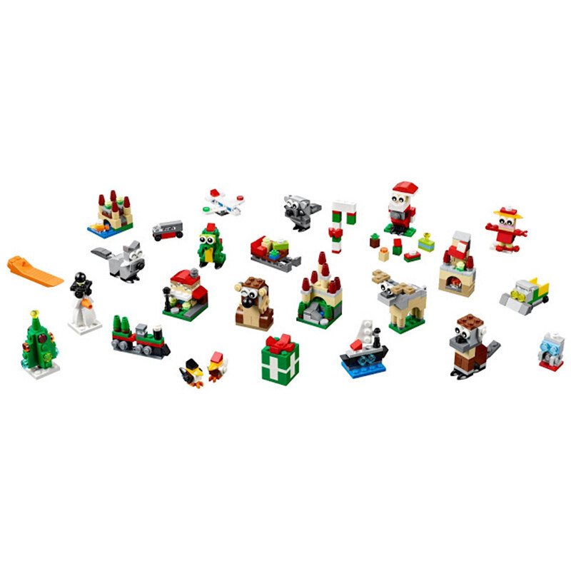 【北欧直邮】乐高(lego)创意积木玩具 节日系列冬季限定版 24合1圣诞