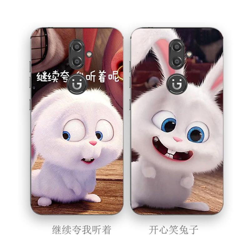2017款金立m6 s plus s5 s9 f100手机壳硅胶保护套兔子萌萌哒可爱男女