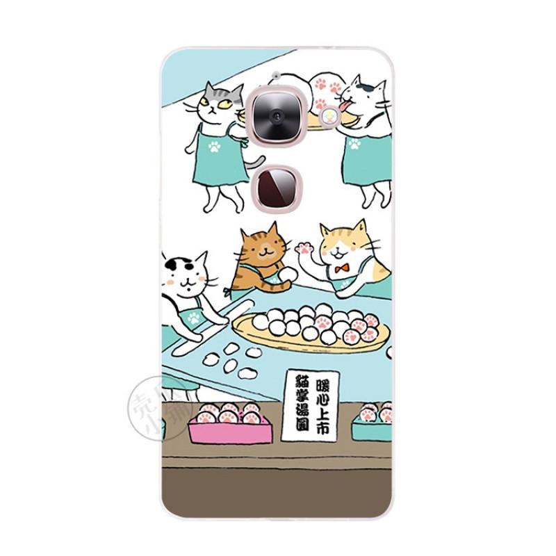 2017款乐视max手机软壳x900超薄保护套插画原创意卡通可爱猫咪日韩