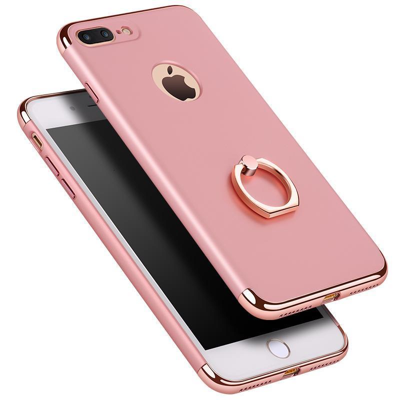 苹果7/8手机壳防摔iphone7保护套78plus指环支架潮男女超薄7p