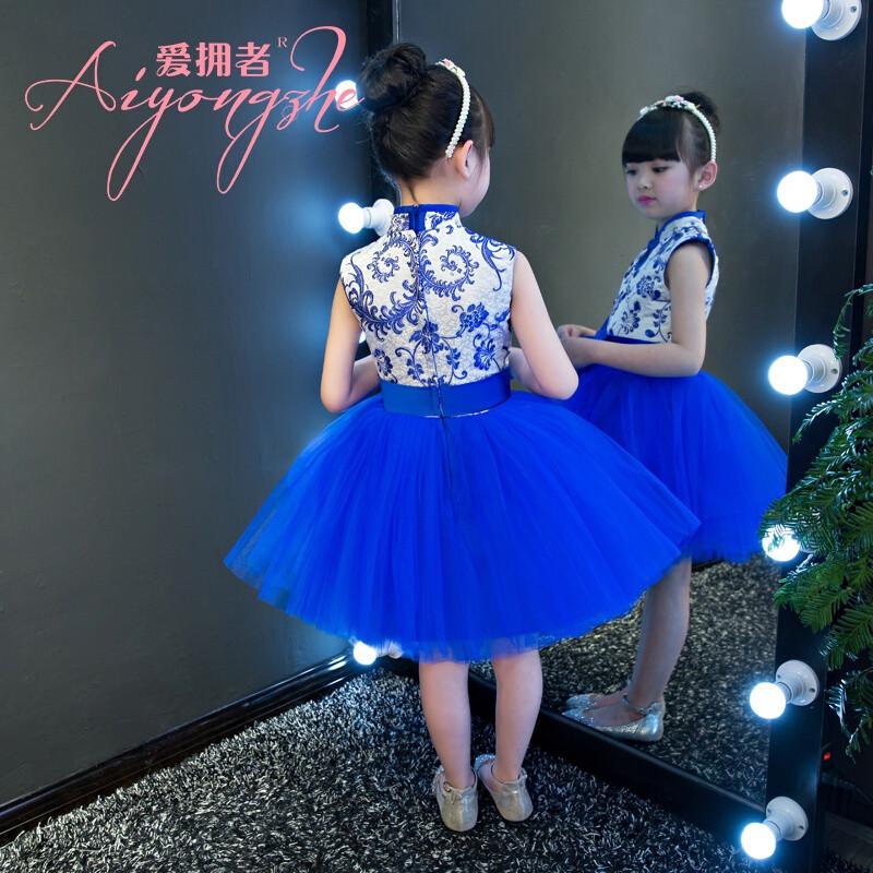 儿童走秀服装_儿童创意走秀服装_儿童模特-青花图片