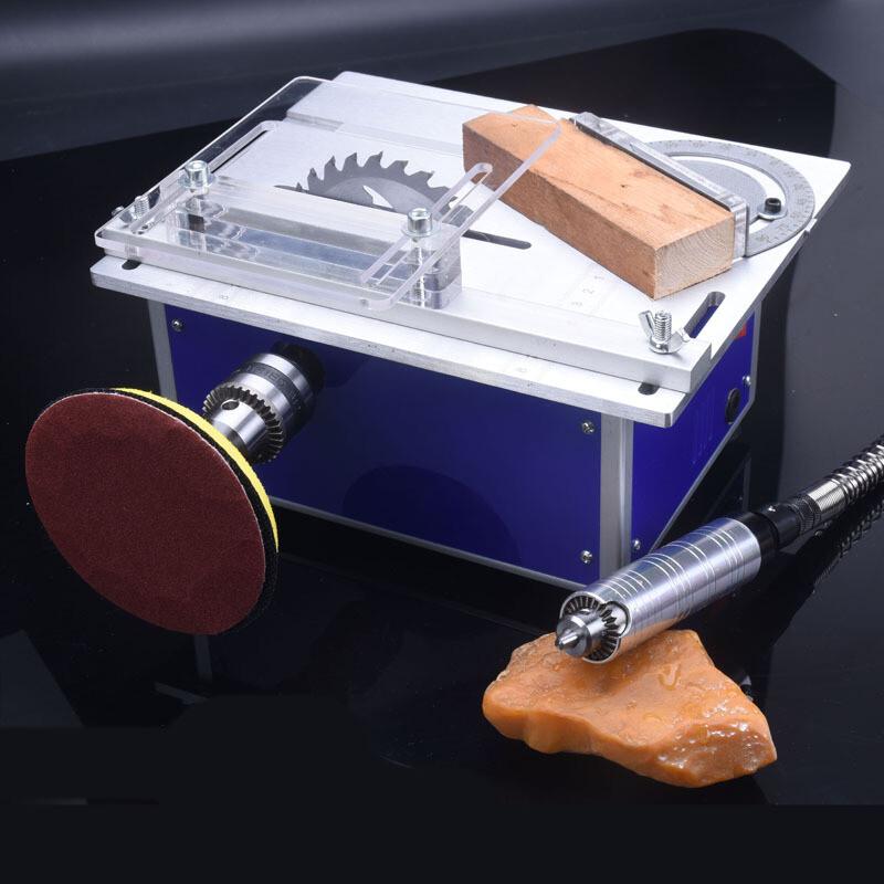 微型精密小台锯木工电锯切割锯模型锯切割机diy多功能