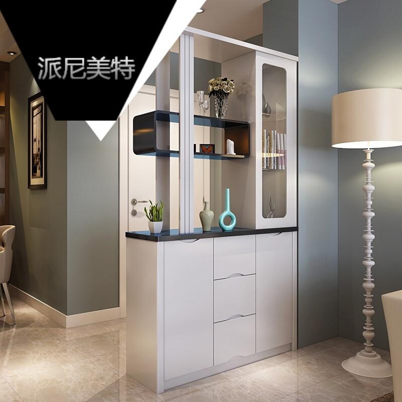 烤漆装饰间厅玄关柜 酒柜储物柜子 现代家具屏风客厅餐厅隔断 图片色