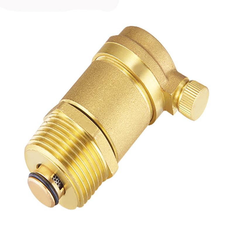 黄铜自动排气阀暖气管道水管快速排气阀dn25图片