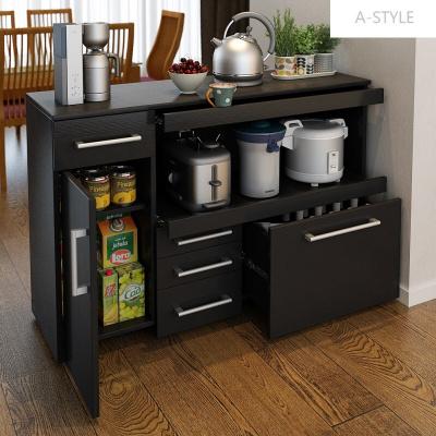 A-STYLE定制餐边柜酒柜储物厨房柜微波炉柜橱柜茶水柜碗柜餐厅柜阳台