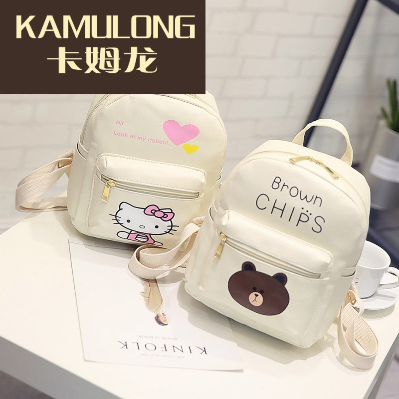 kamulong可爱女孩少女双肩包公主小女孩潮迷你小背包女童小学生休闲旅