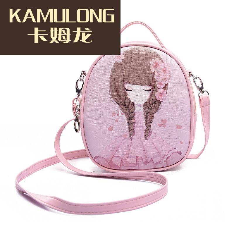 kamulong可爱儿童包包小女孩包单肩斜挎包公主包双肩包背包手拎包包邮