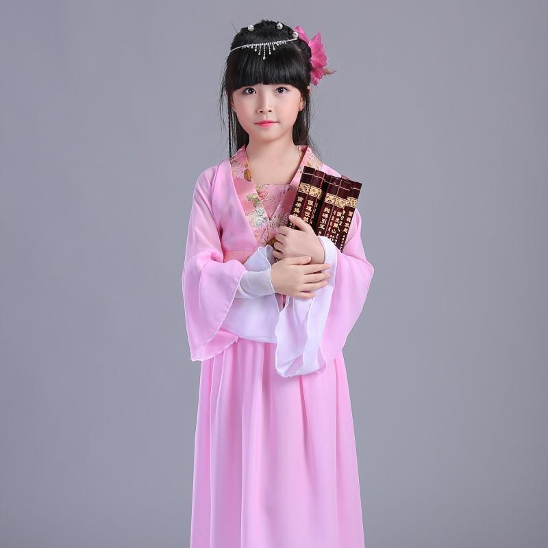 七仙女古装古代衣服仙女装儿童小孩公主女童夏装裙女孩万圣节服装图片图片