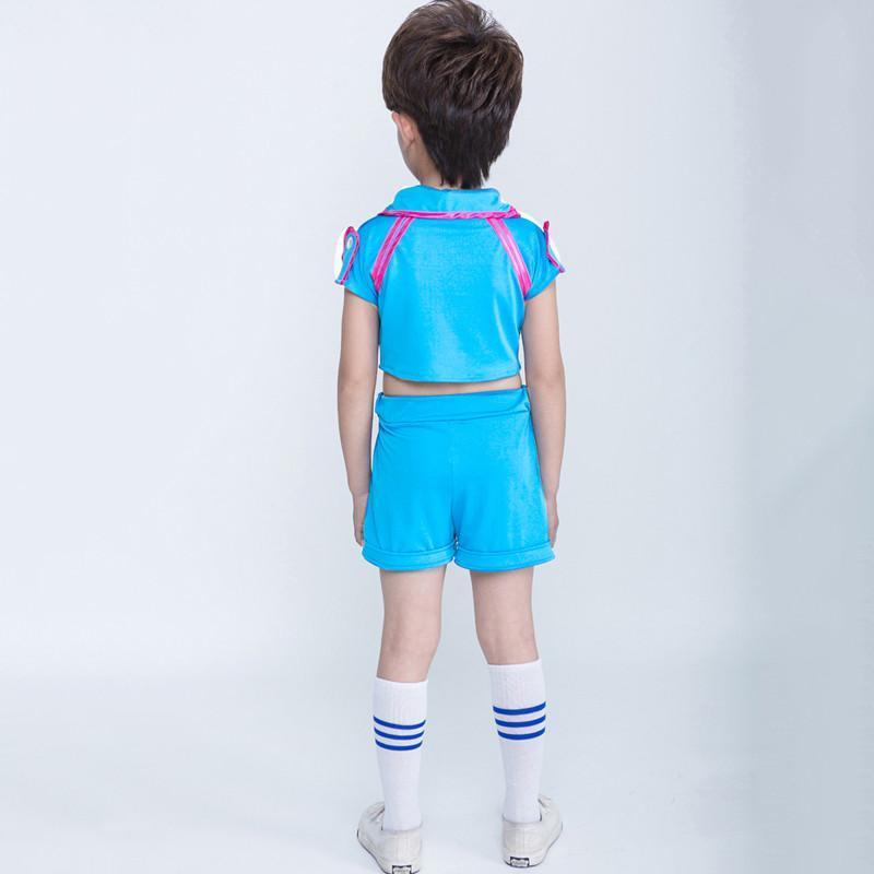 六一儿童演出服啦啦操跳舞衣服小学生男女童舞蹈服运动会表演服装图片