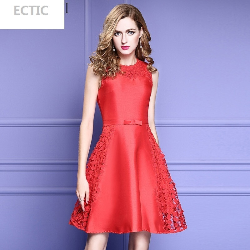 蕾丝蓬蓬裙连衣裙超仙