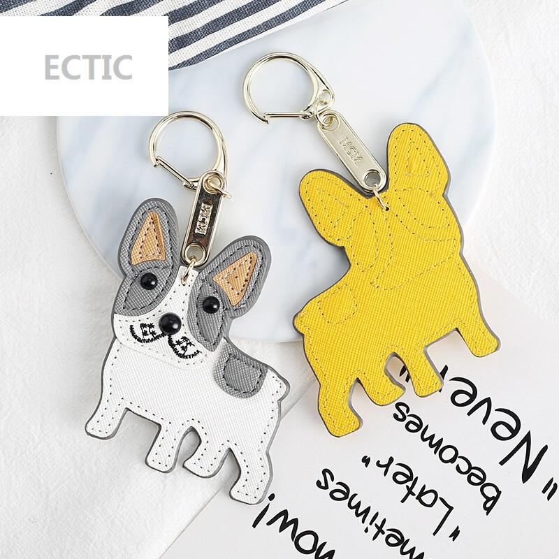 ectic小狗钥匙扣韩国创意可爱吊饰男士女款情侣背包书包挂饰包包挂件