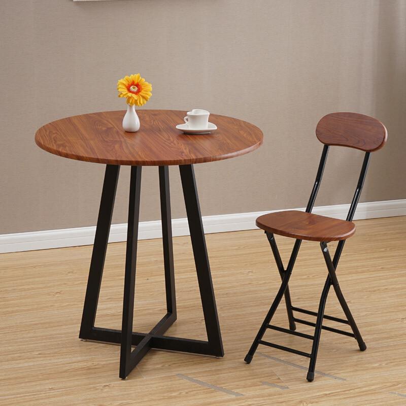 doxa现代简约休闲咖啡桌圆桌小户型餐桌洽谈桌子接待桌椅组合阳台桌椅
