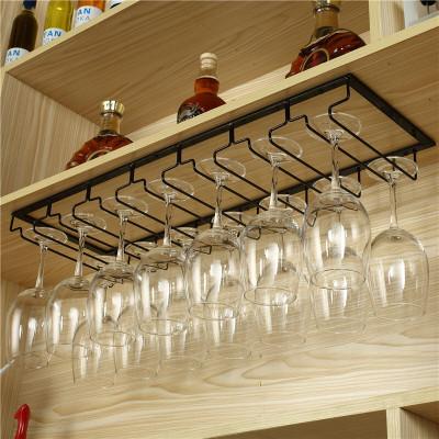 DOXA红酒杯架家用酒柜高脚杯架倒挂红酒杯的架子酒杯架悬挂红酒架摆件