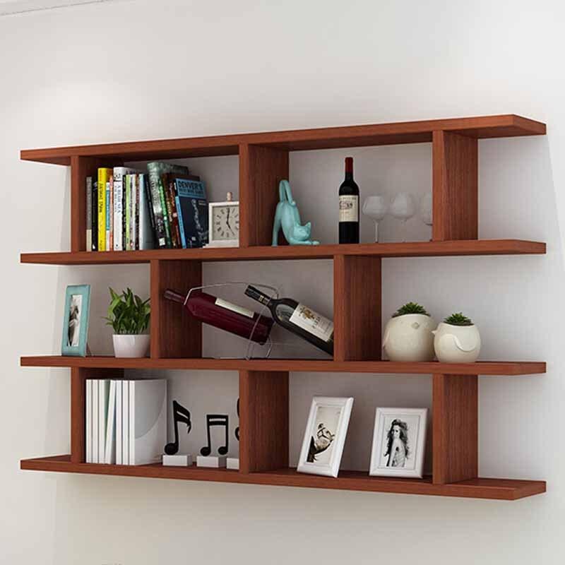 doxa创意酒架墙上置物架挂柜墙柜吊柜现代简约墙上书柜壁挂书架墙壁柜图片