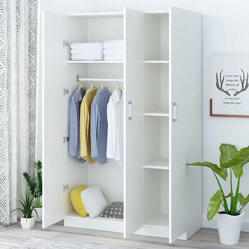 doxa簡易衣柜兒童衣柜23門木質衣柜實木衣柜簡約現代經濟型衣柜