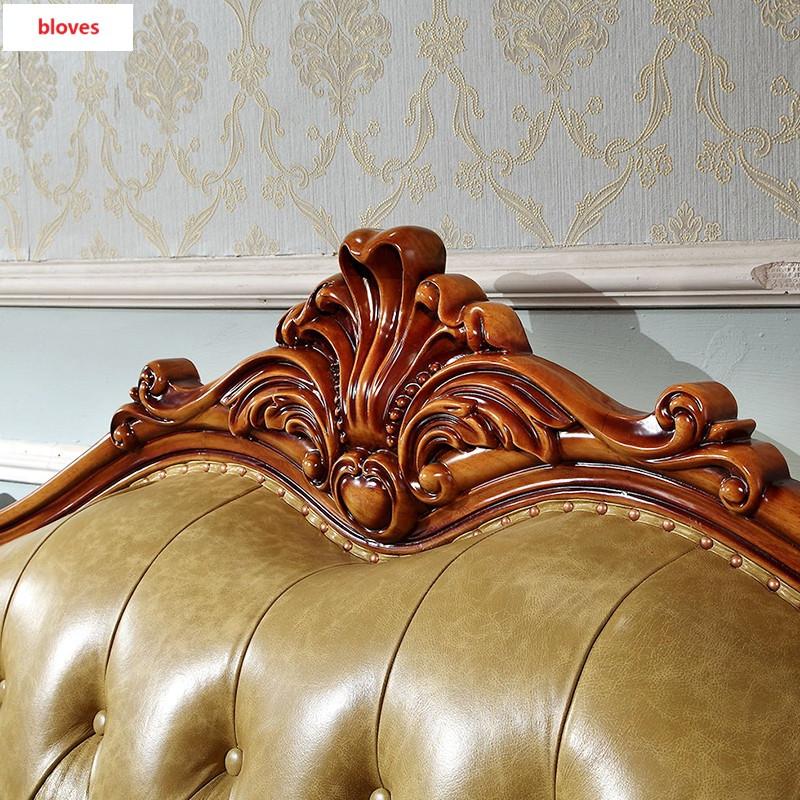 bloves- 复古实木雕刻沙发客厅组合别墅家具 欧式古典