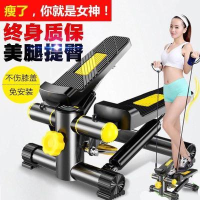 踏步機 家用減肥機免安裝登山機多功能瘦腰機瘦腿腳踏機健身器材