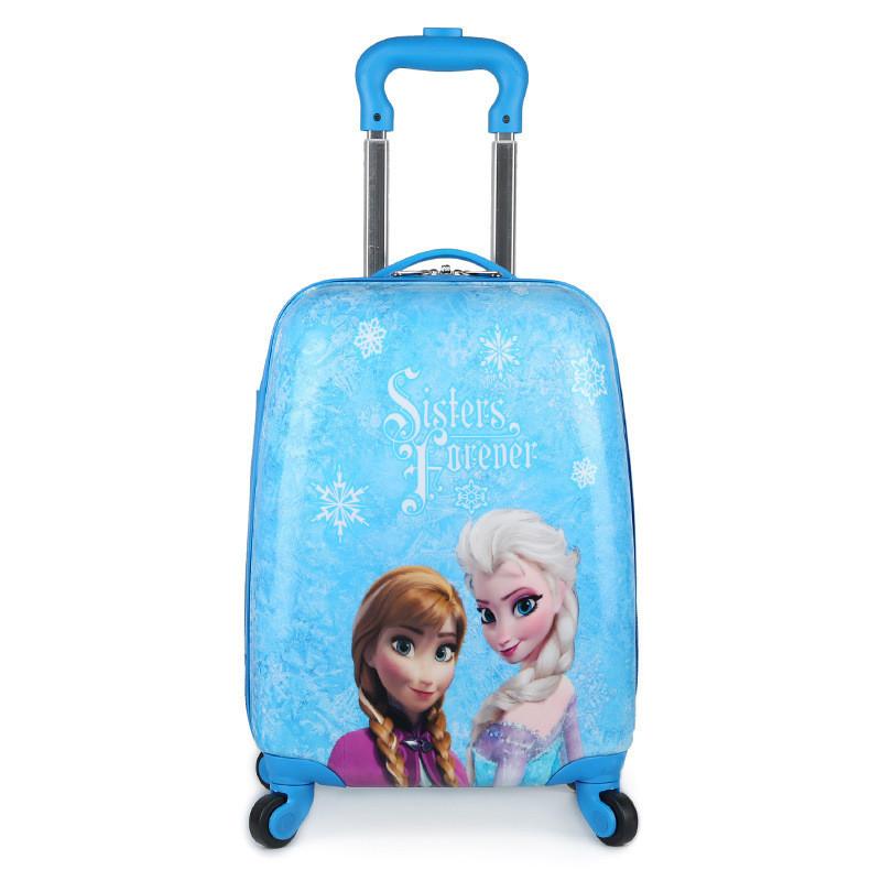 礼品箱18寸卡通儿童拉杆箱小学生时尚可爱万向轮双杆行李箱 sn-1695