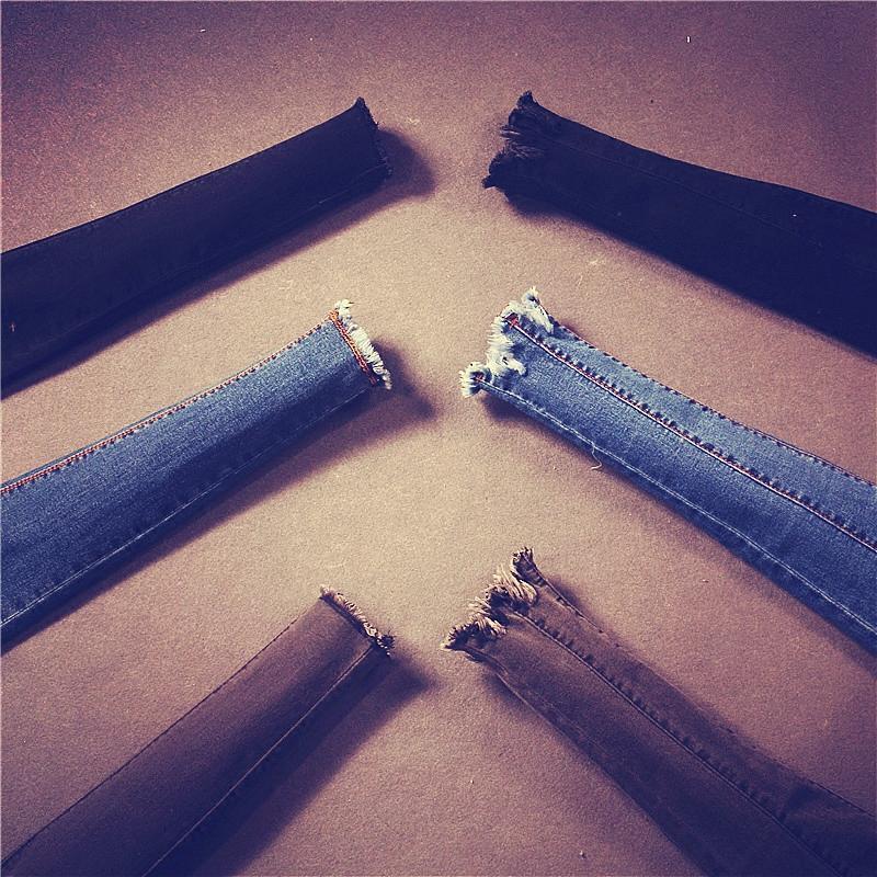 加厚高弹力面料】秋冬高腰加绒牛仔裤女修身显瘦小脚铅笔裤长裤子