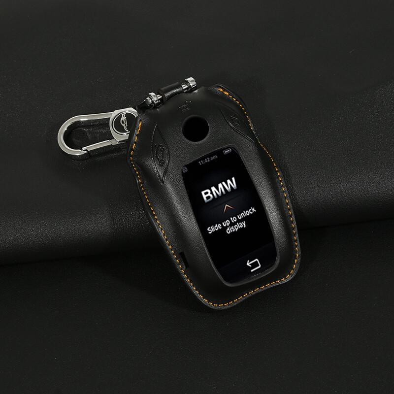 钥匙包专用于17款新宝马7系钥匙包真皮730li740li750钥匙套
