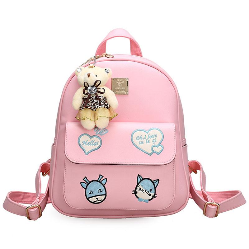新款可爱公主儿童双肩包女韩版女童小学生书包小女孩背包时尚旅游包潮