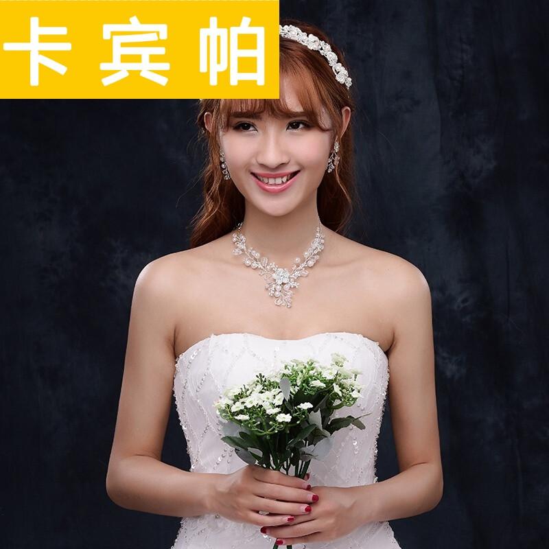 结婚头饰新娘三套装