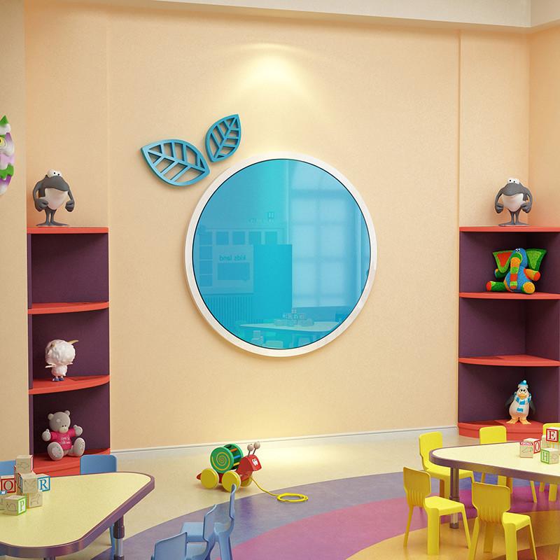 创意公告栏墙贴画幼儿园主题墙纸墙面装饰家园联系栏亚克力展示板