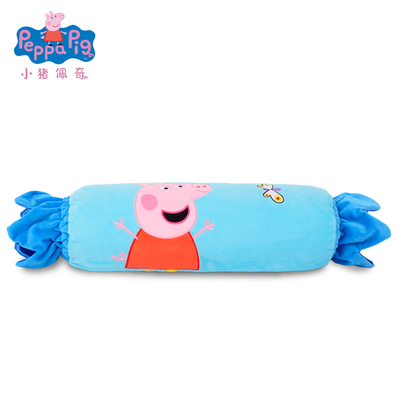 小猪佩奇玩具毛绒抱枕糖果空调被佩佩玩具猪宝宝幼儿园儿童礼物