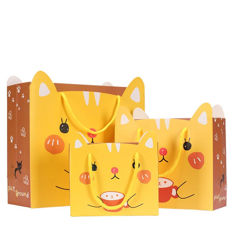 卓品佳可爱卡通动物图案儿童礼物手提袋纸袋礼袋礼品包装袋韩版创意10