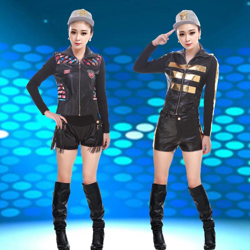 新款夜店女歌手爵士服装领舞亮钻连体衣现代性感酒吧舞蹈性感ds演出服图片如何钢管搭配图片