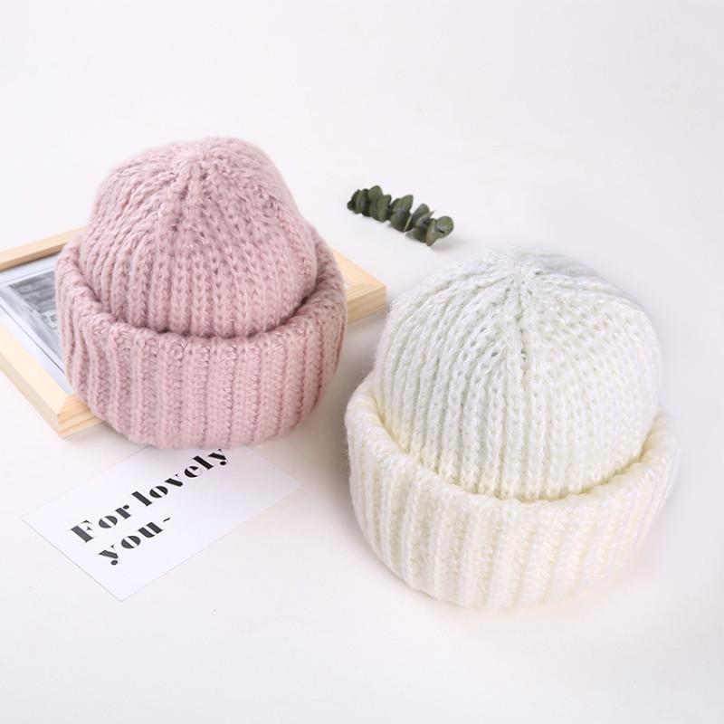 帽子女潮秋冬针织帽gd权志龙ins同款毛线帽男加厚保暖